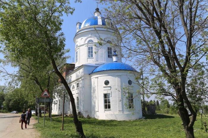 Картинки по запросу успенский собор оханск